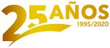 Logo 25 años Fruveg